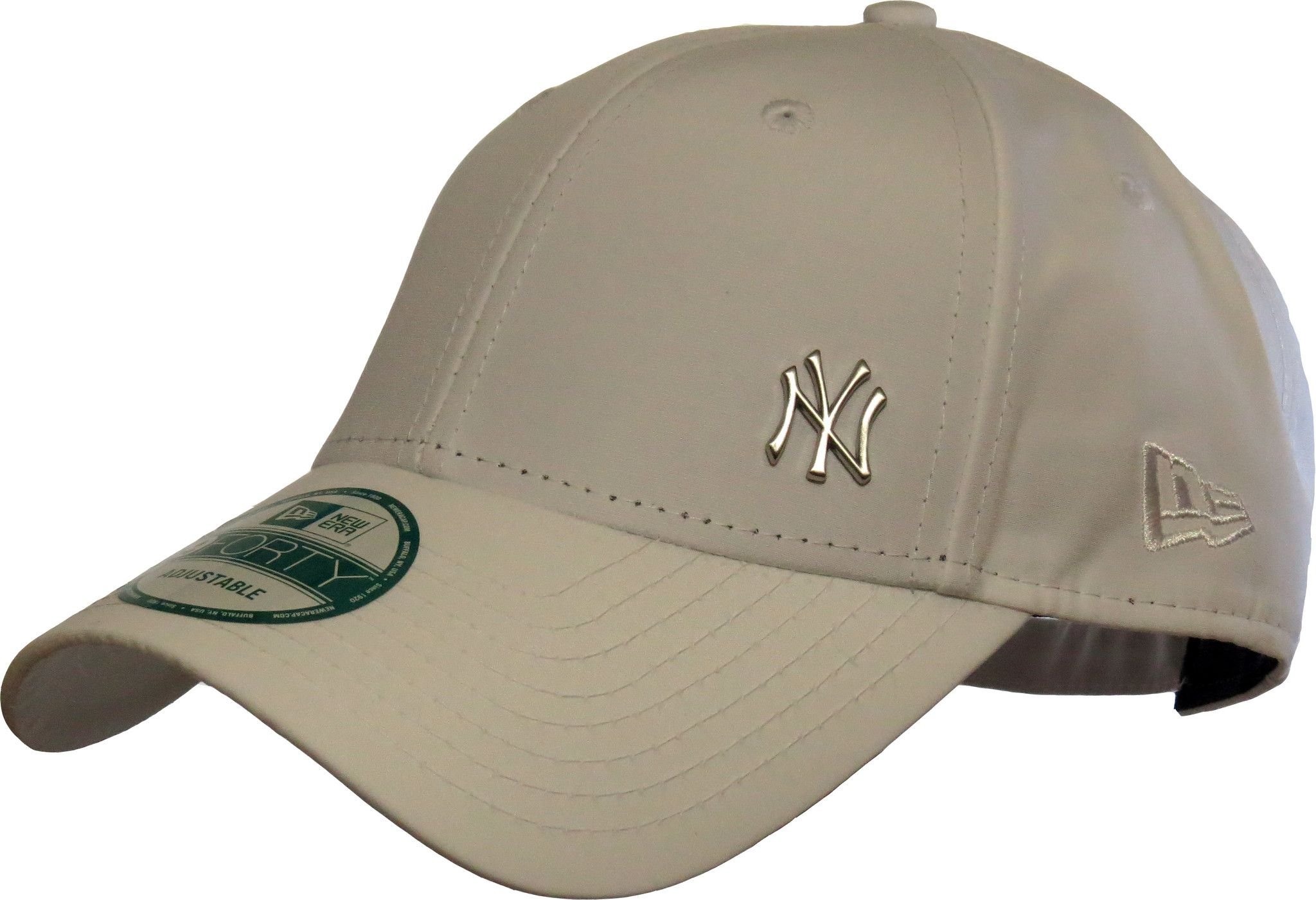 497a9d778ba New Era 940 Flawless NY Logo White Baseball Cap