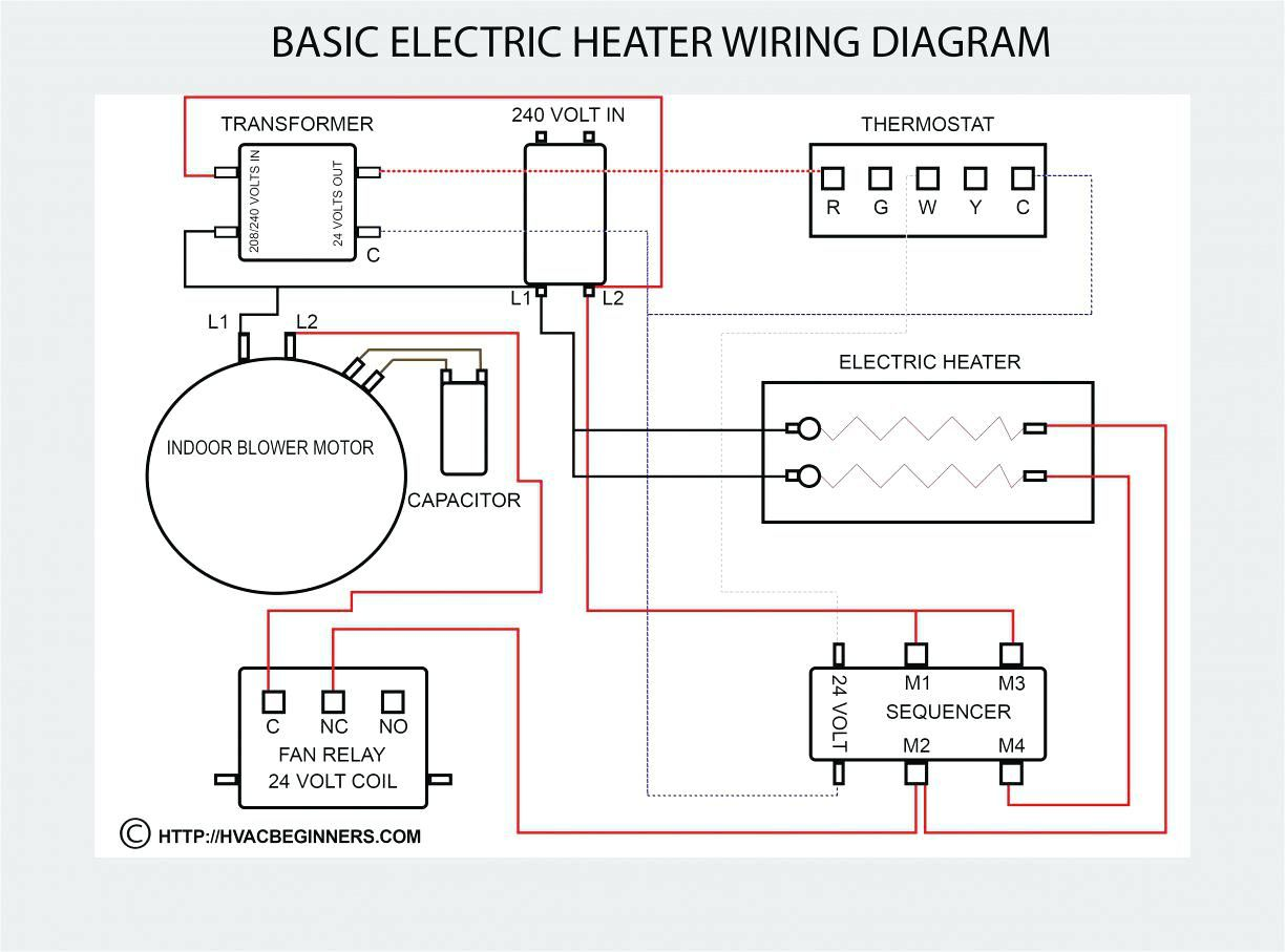 Hard Start Capacitor Wiring Diagram With Images Electrical