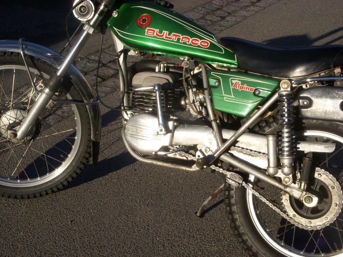 BULTACO Alpina 250 - Klassische Motorräder - Offroadforen