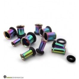 Rainbow Steel Tunnel Plugs