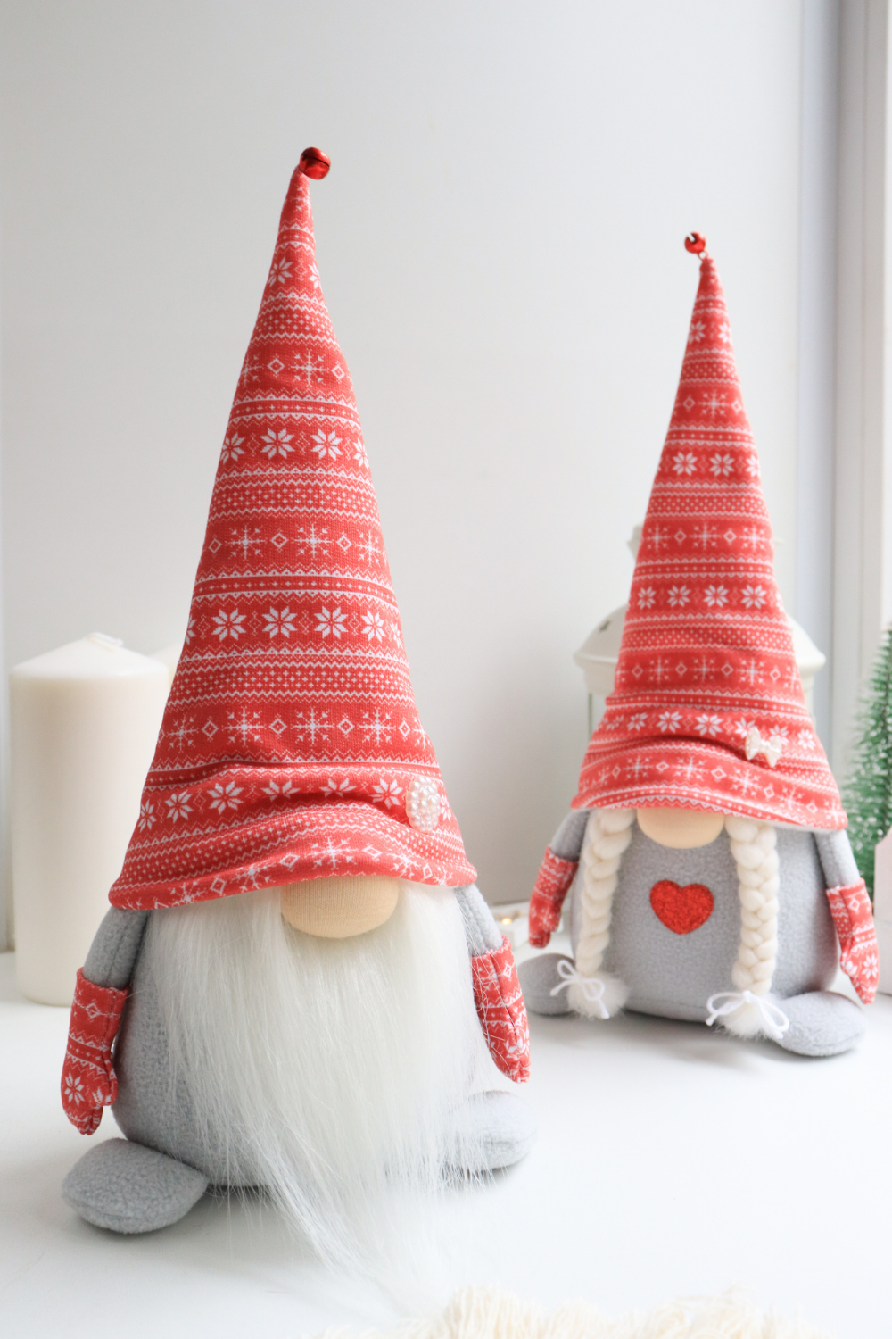 Scandinavian Christmas Gnomes Couple Swedish Holiday Home Decor New Year Gift In 2020 Christmas Gnome Unique Christmas Gifts Scandinavian Christmas