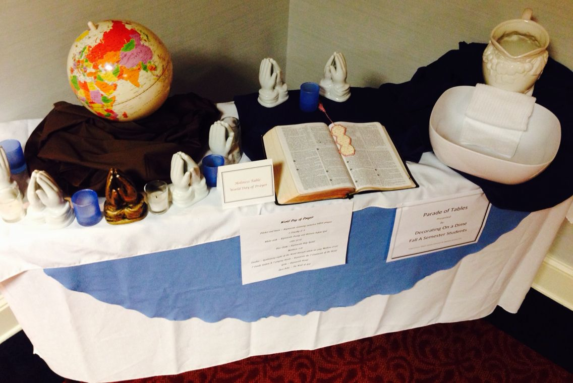 TABLESCAPE: Holiness Table World Day of Prayer By Eunice Gitau