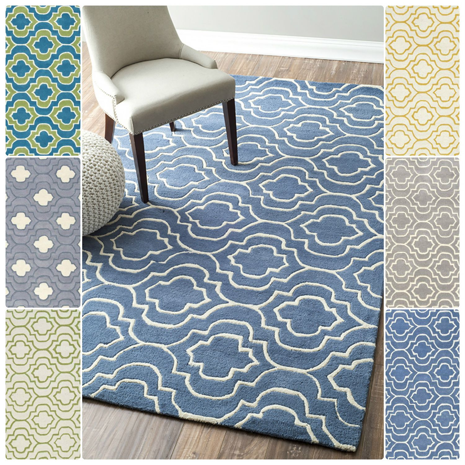 Bring Style And Elegance Into Your Room Setting With This Wool Rug Is