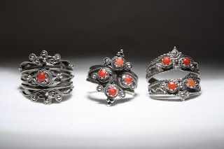 Vente bijoux kabyles (Paris, Ath Yenni, Kabylie, Algérie) Bagues