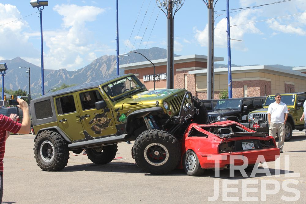 Third Annual Trail Jeeps Day Boulder Co T Rex Crawling Over