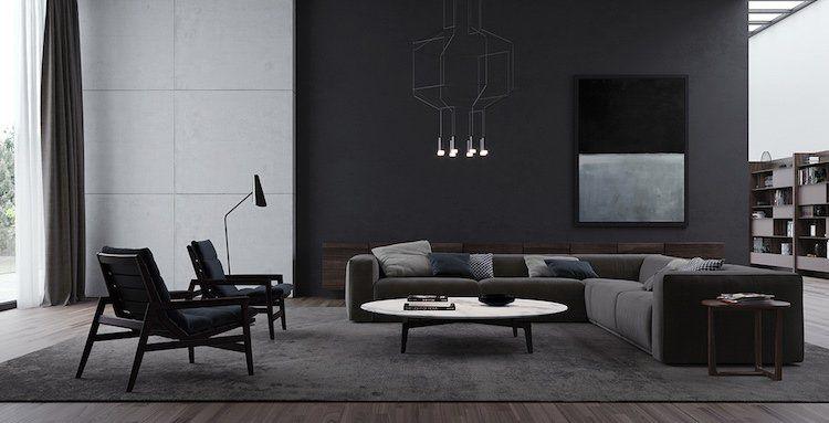 Dites « oui » au salon de style minimaliste et aux idées ...