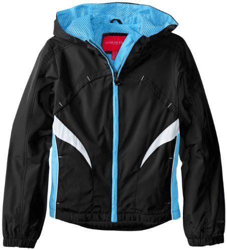 London Fog Girls 7-16 Active Radiance Windbreaker Jacket - Listing price: $54.00 Now: $24.99