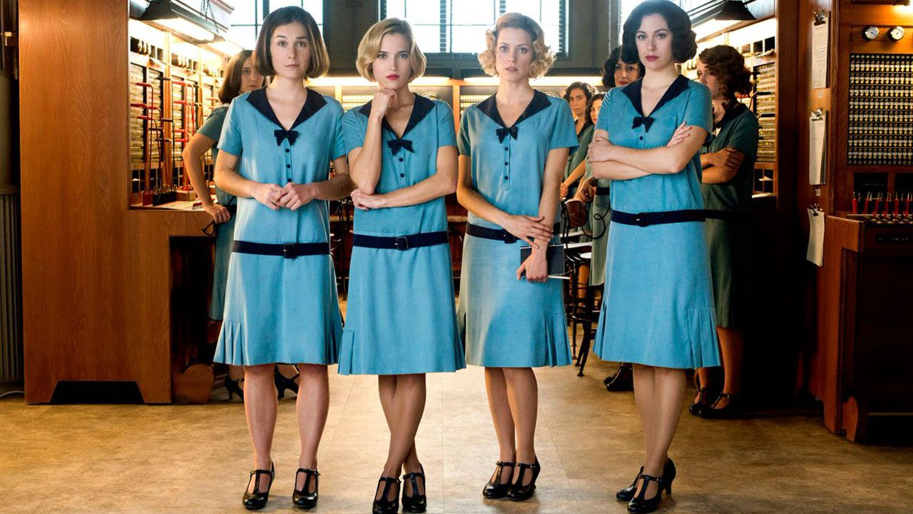 Cable Girls in 2020 Fashion, Girl costumes, Girl