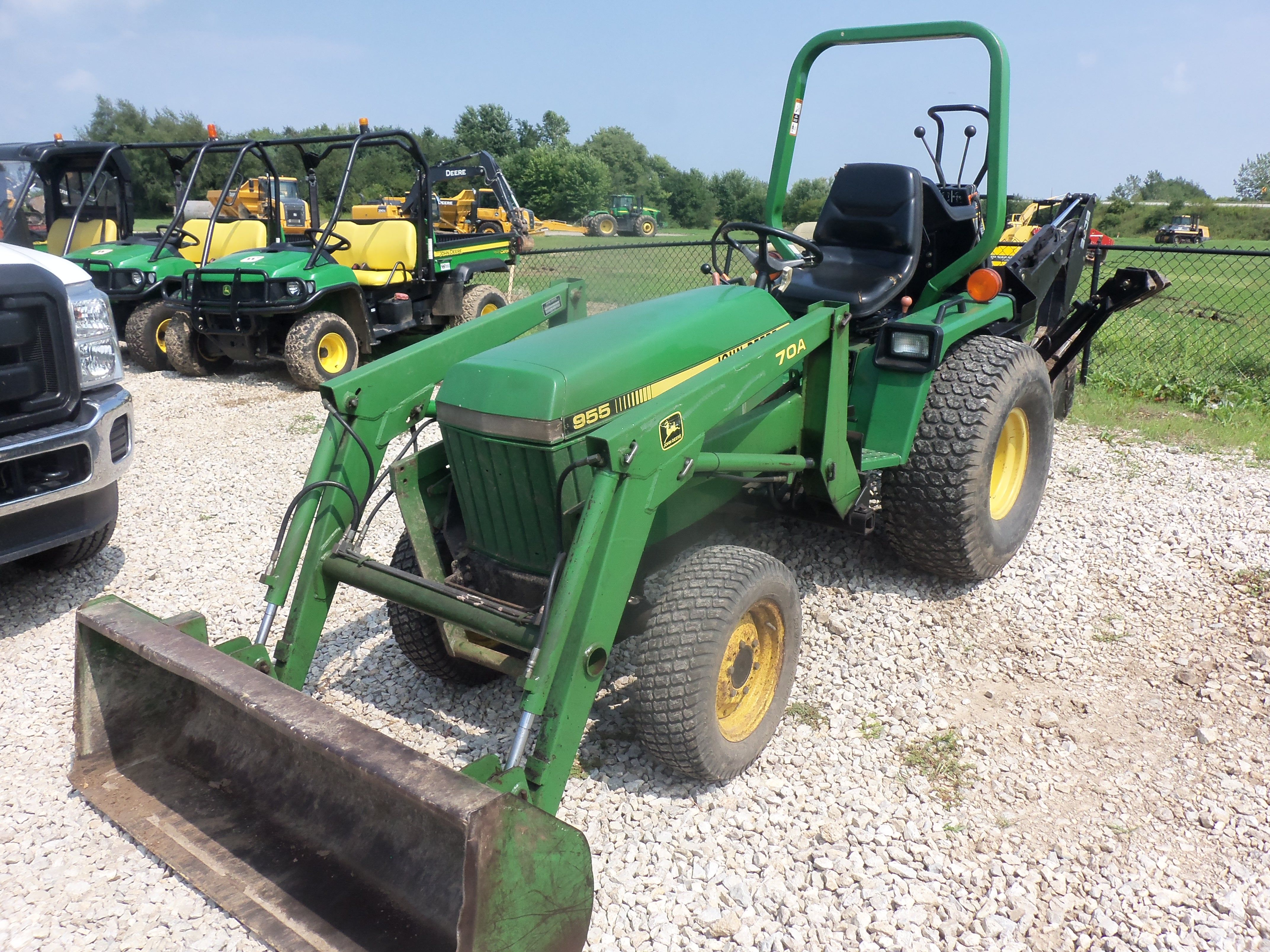 small resolution of john deere 955 with 70a loader