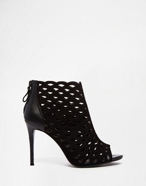 Buy Women Shoes / Dune Dakota Caged Heeled Shoe Boots