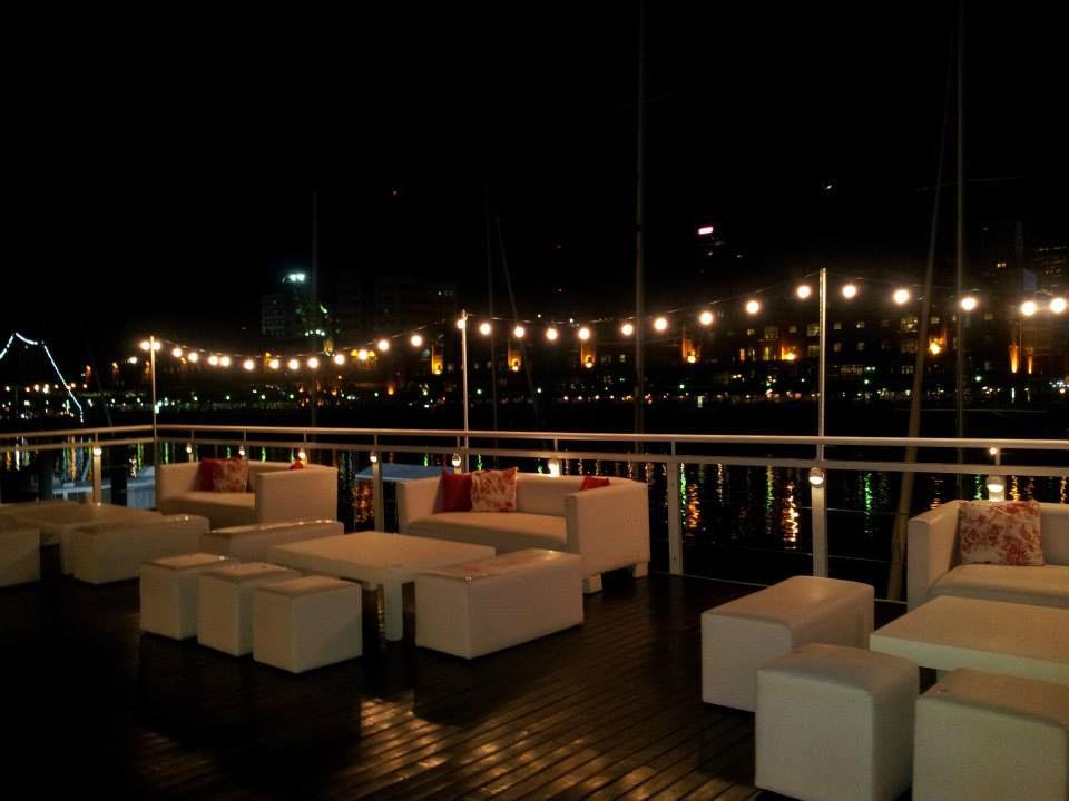 Livings Exteriores De La Boda Realizada En El Yacht Club