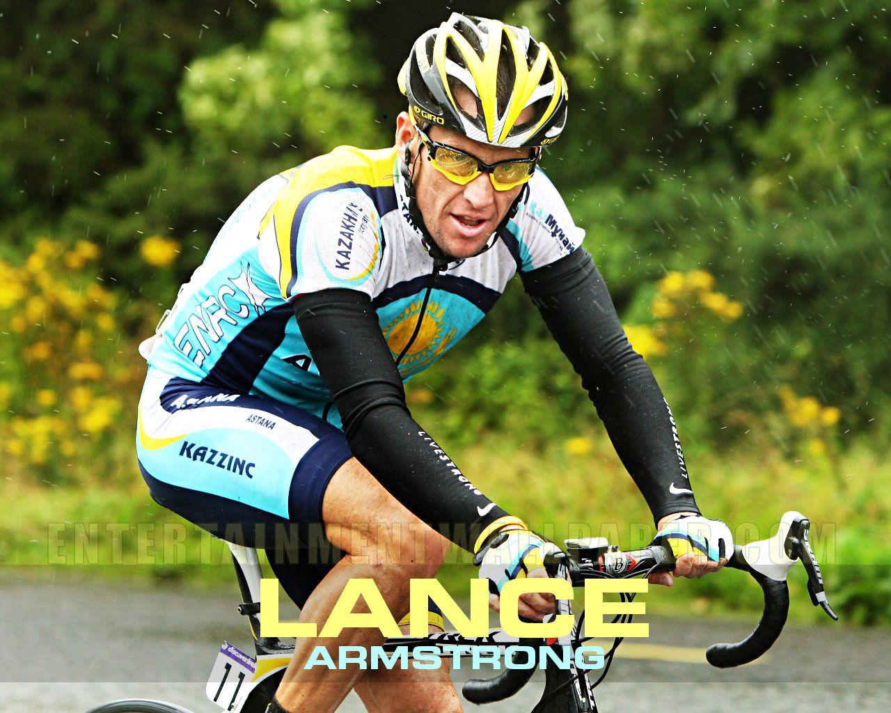 Lance Armstrong Armstrong Racing Cyclist Sports Stars