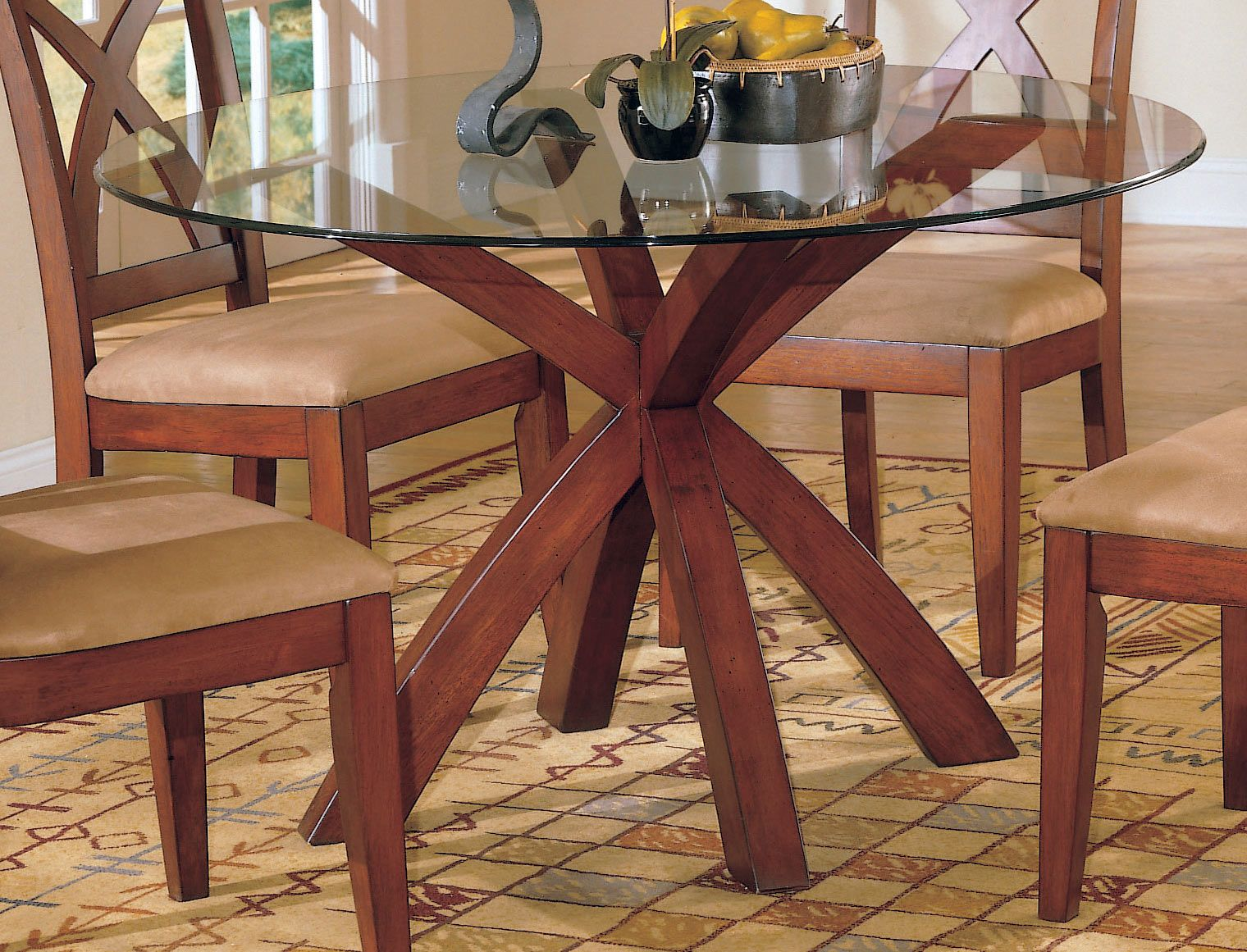 44++ Home elegance round dining tables with chairs Best Choice