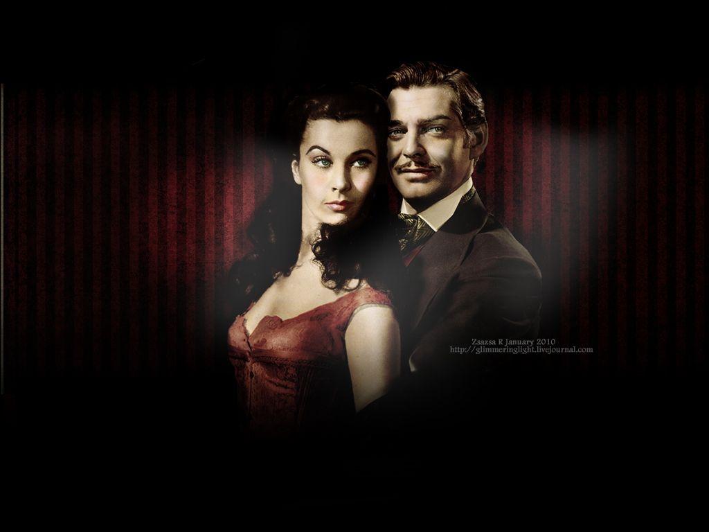Rhett Scarlett A Beautiful Couple Gone With The Wind Vivien