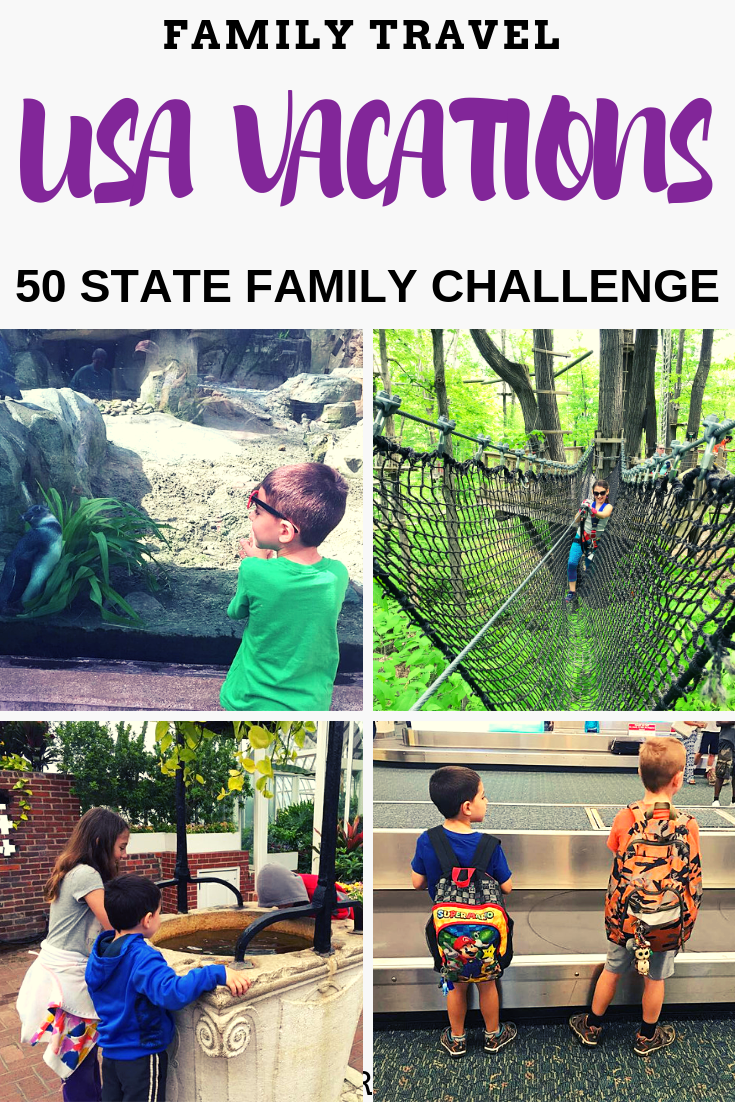 Family Travel Goals Will You Take the Visit All 50 States