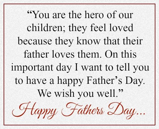 Fathers Day Messages From Wifes: Fathers Day Messages For Husband
