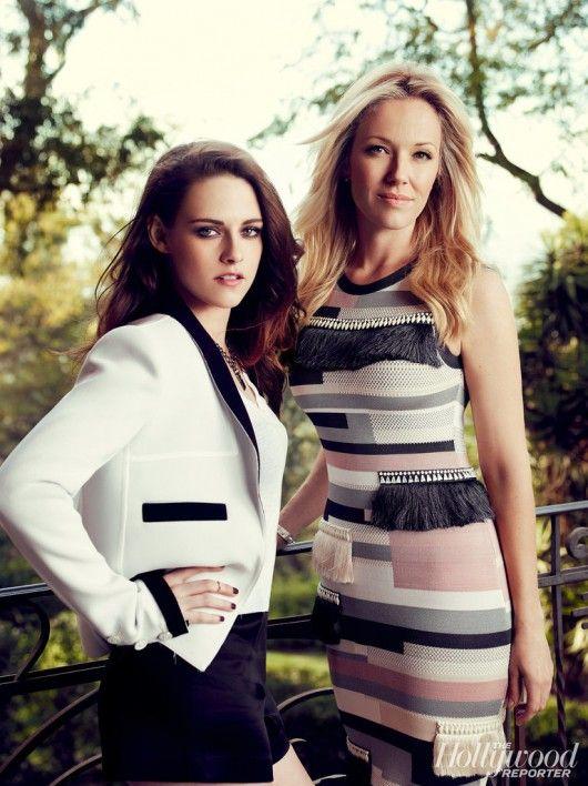 Kristen Stewart and her stylist Tara Swennen. #kristenstewart #kstew #taraswennen