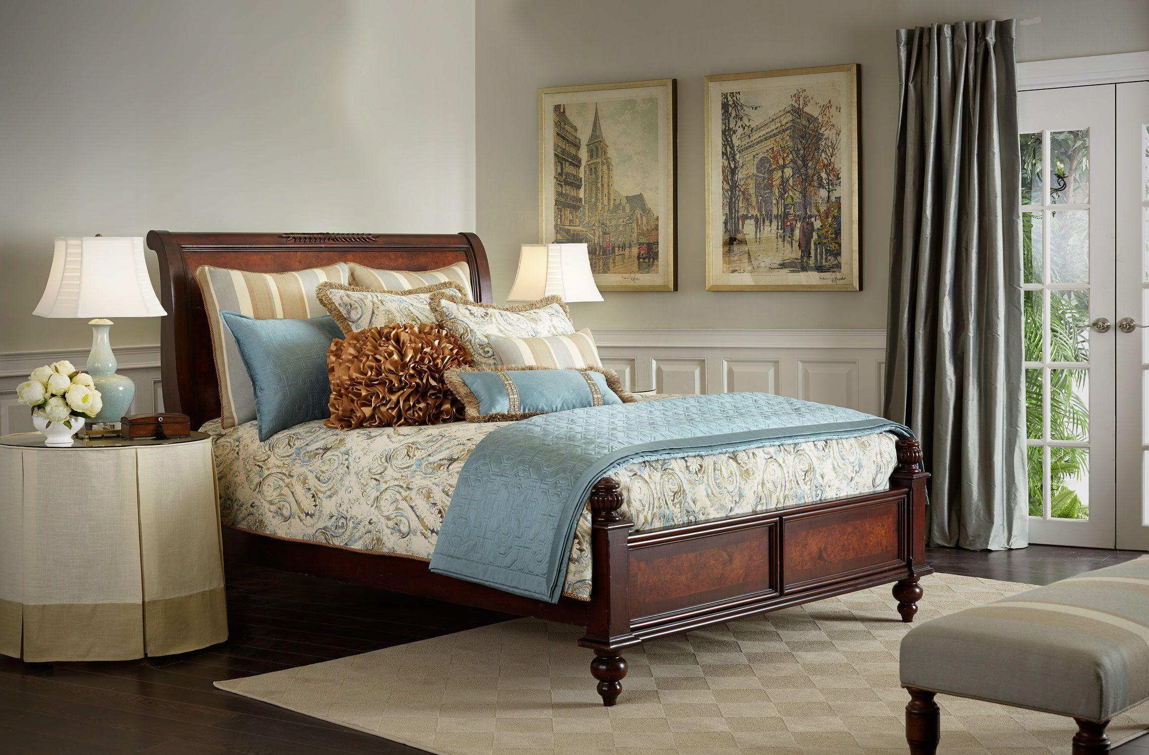 Essex Bed Bombay Canada Home design Home bedroom