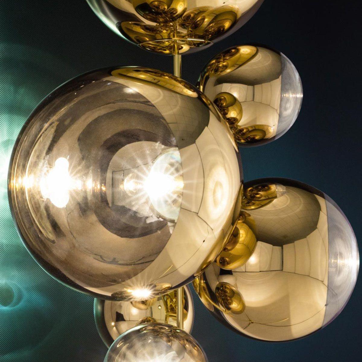 Tom Dixon Mirror Ball Stand Chandelier Floor Lamp In 2020 Chandelier Floor Lamp Mirror Ball Mirror With Lights