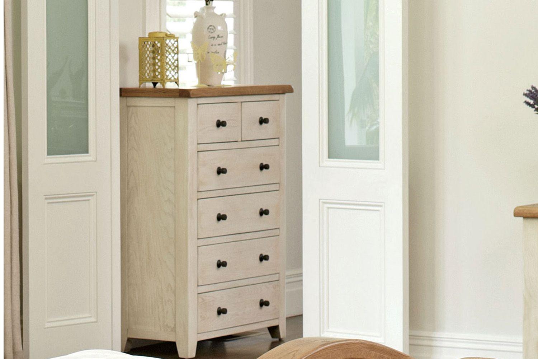 Mansfield 6 Drawer Tallboy By Debonaire Furniture Harvey
