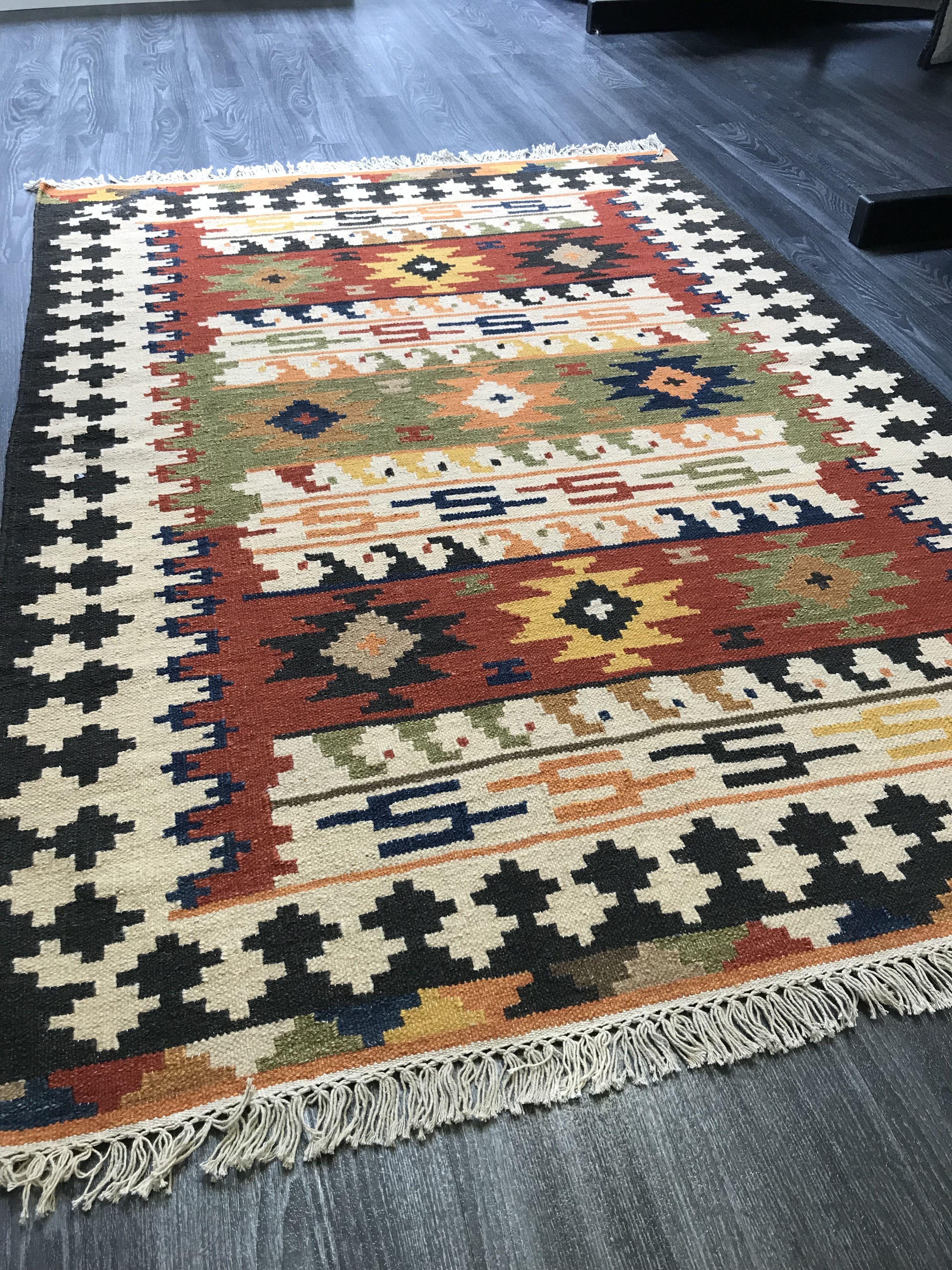 Qajar Rug Rugs Handmade Wool Rugs Style Carpet