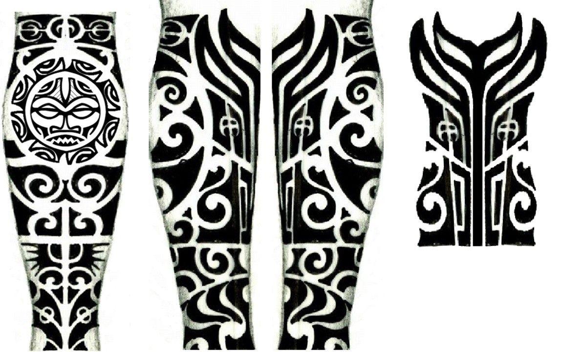 Imagem De Tatuagem Maori Por Pakin Sangkhan Em ส ก Tatuagem