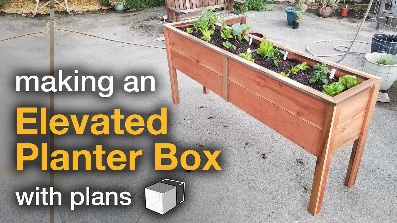Pin By Kaylei Jones On Garden In 2020 Elevated Planter 640 x 480