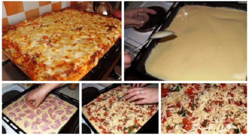 пеку пиццу на заказ