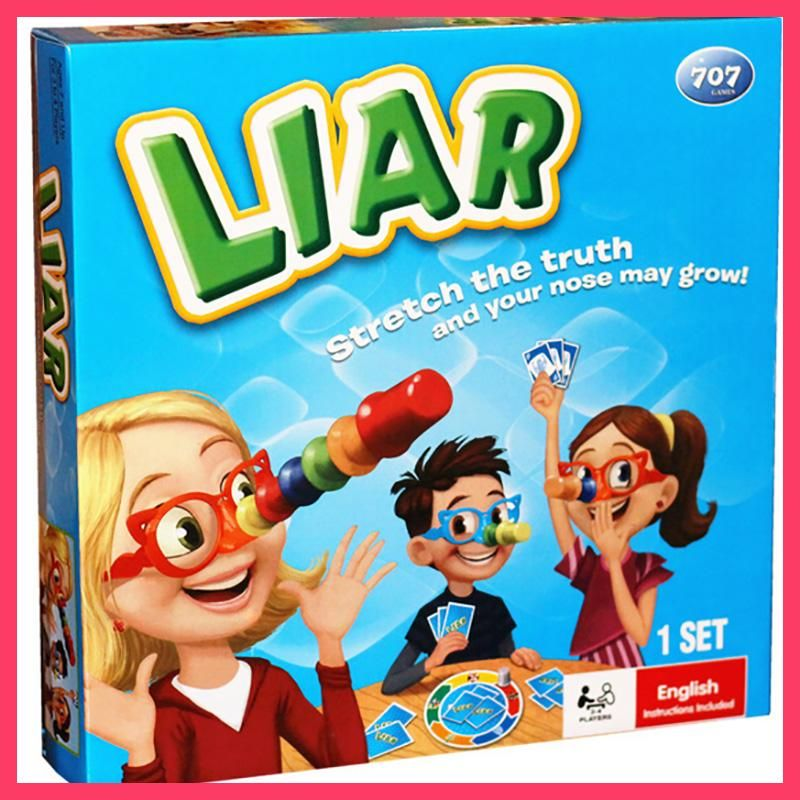 Liar Board Game Stretch The Truth And Your Nuse May Grow Party