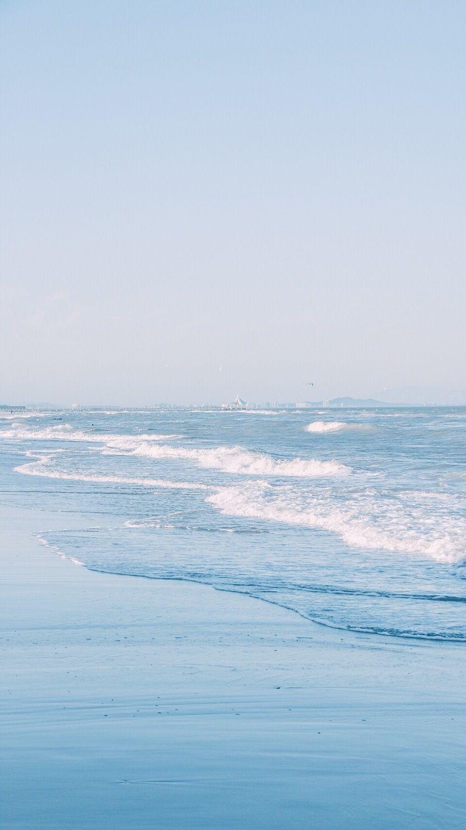 Blue Waves Phong Cảnh Thien Nhien Hoang Hon