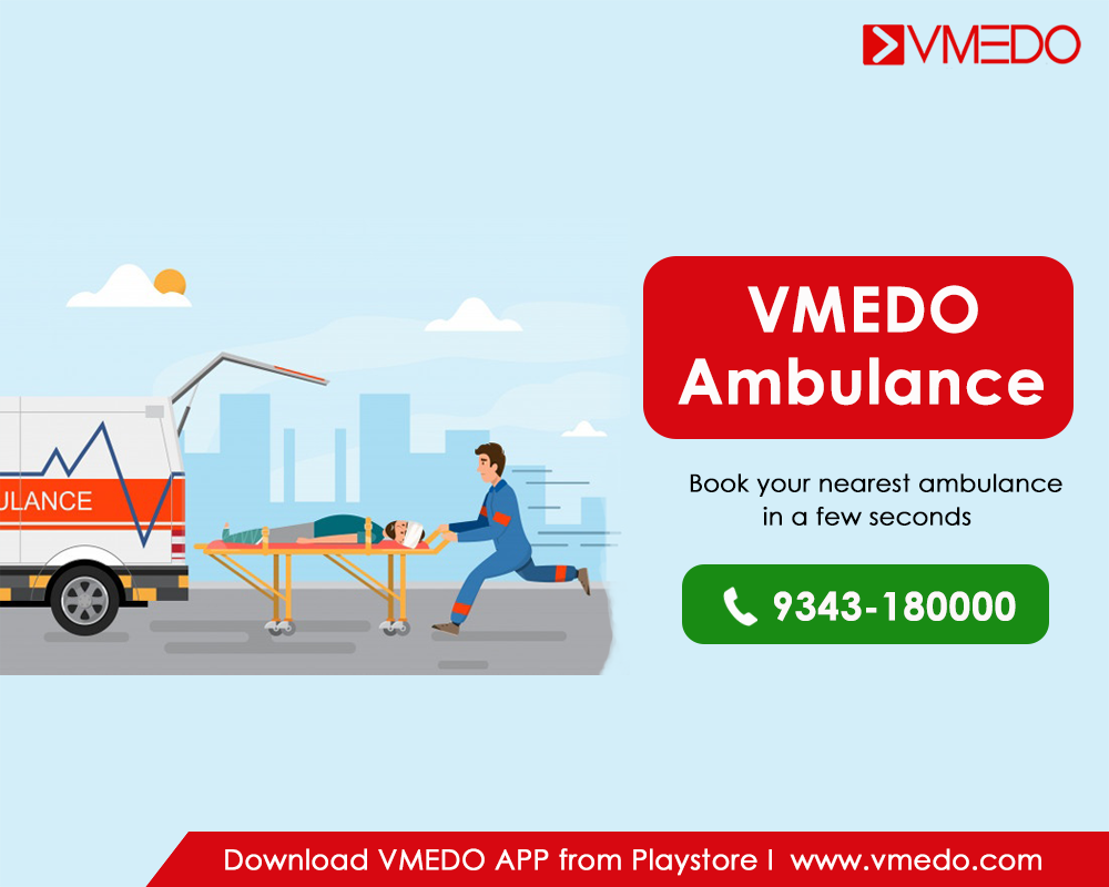 Now, book India's most agile and affordable Ambulance at