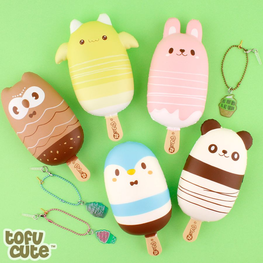 Buy Puni Maru Scented Squishy Animal Popsicle at Tofu Cute