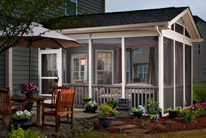 Screened In Porch Patio Screen Pictures And Easy Design