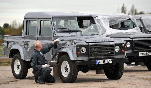 James Bond Defenders Used On The Movie Skyfall