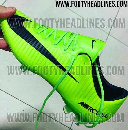 9d5daa1b9 Electric Green Nike Mercurial Vapor XI 2017 Boots Leaked - Footy Headlines