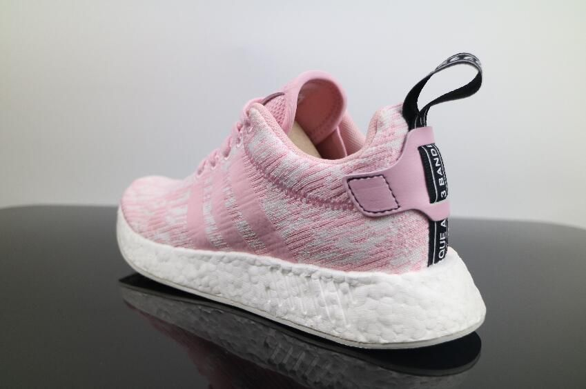 b186bd154c6c0 Best Price Authentic Girl Adidas NMD R2 Pink BY9315 Boost Free Shipping for  Sale 06