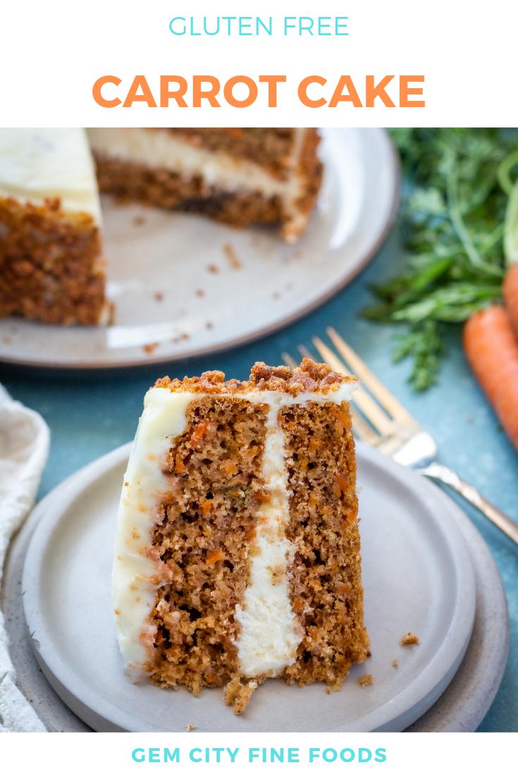 The BEST Gluten Free Carrot Cake! Gluten free carrot