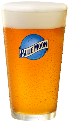 Orange Vodka A Glass Of Blue Moon Beer With An Orange Slice Served With A Shot Of Kettle Orange Vod Belgian White Beer Blue Moon Beer Blue Moon Belgian White