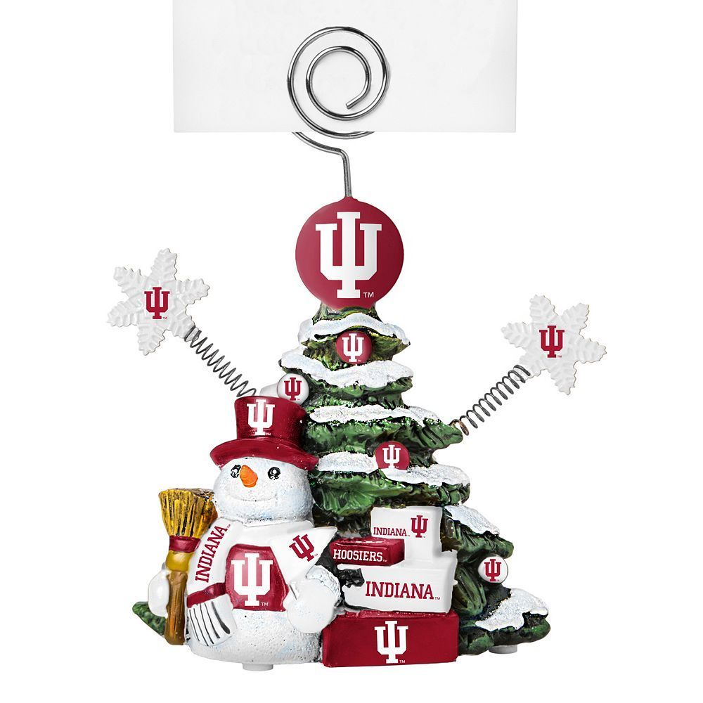 Indiana Hoosiers Christmas Tree Photo Holder, Green | Products ...