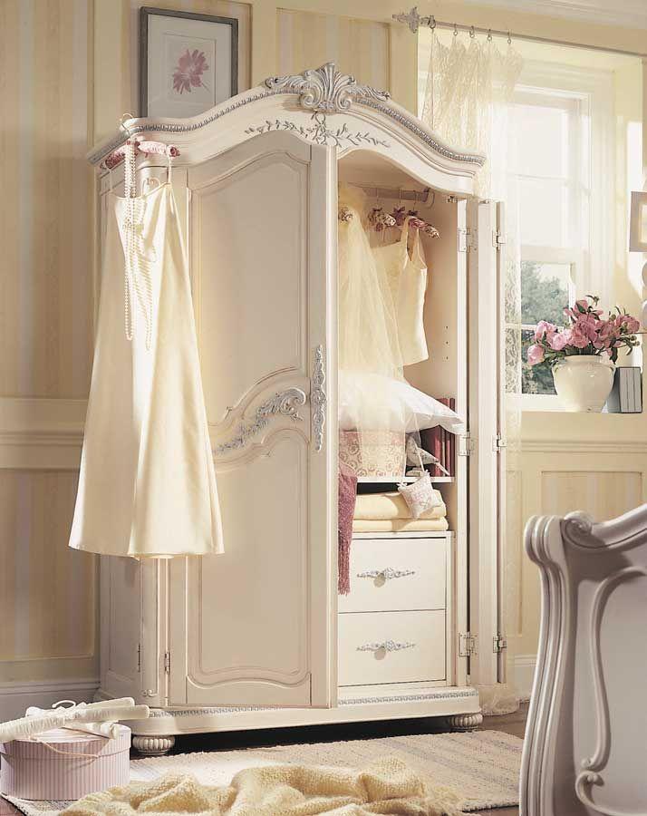 Beau Lea Jessica McClintock Romance Armoire  Furniture