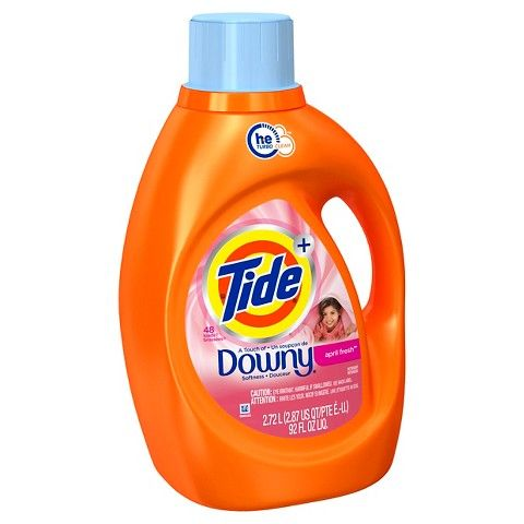 Tide Plus A Touch Of Downy April Fresh High Efficiency Liquid