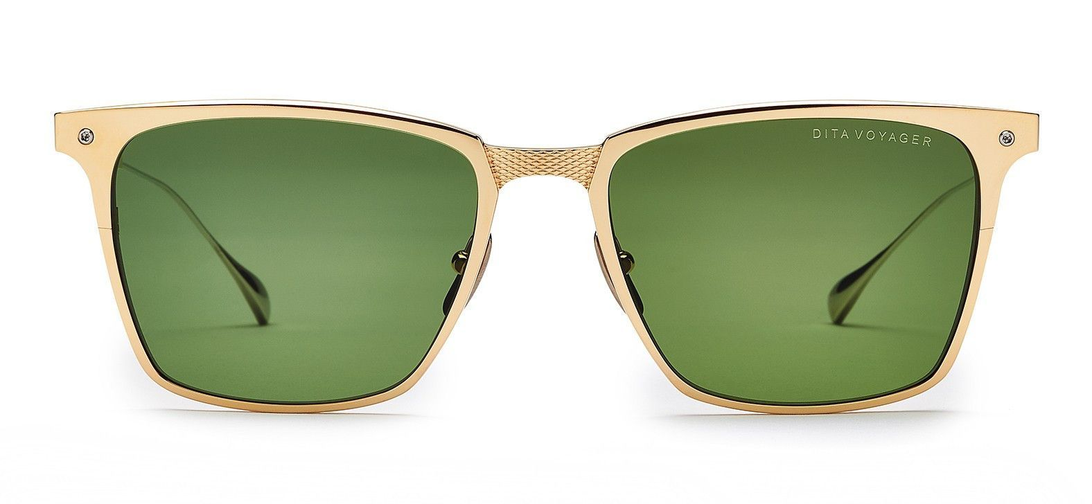 64143971896 Voyager Square Sunglasses in Gold   Black