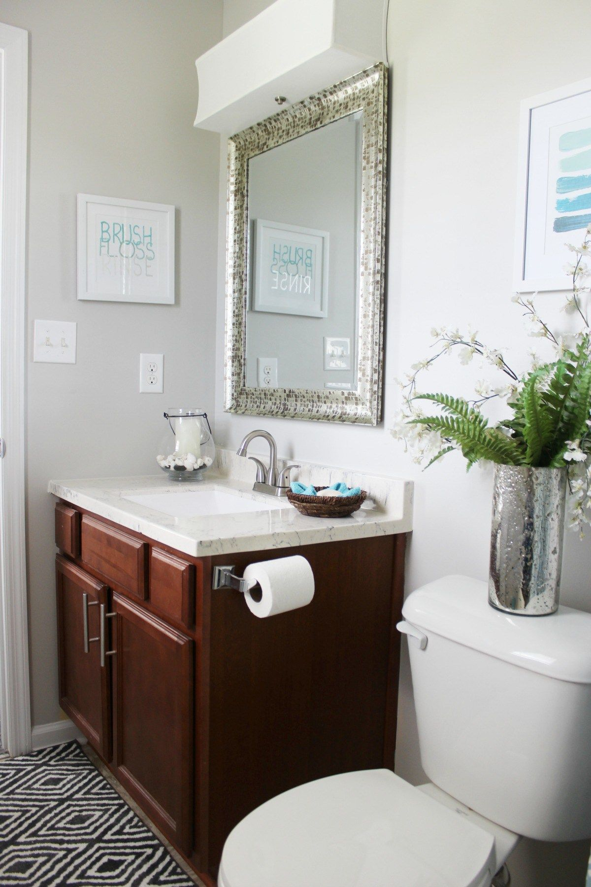Before And After Fixer Upper Reveal Fixer Upper Home Design Decor Small Bathroom