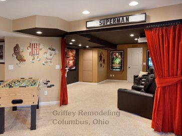 Basement Remodeling Columbus Ohio westerville, ohio, basement remodel - traditional - basement