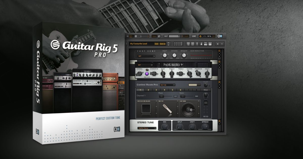 GUITAR RIG 5 PRO  $99 sale for blackfriday! (from $199