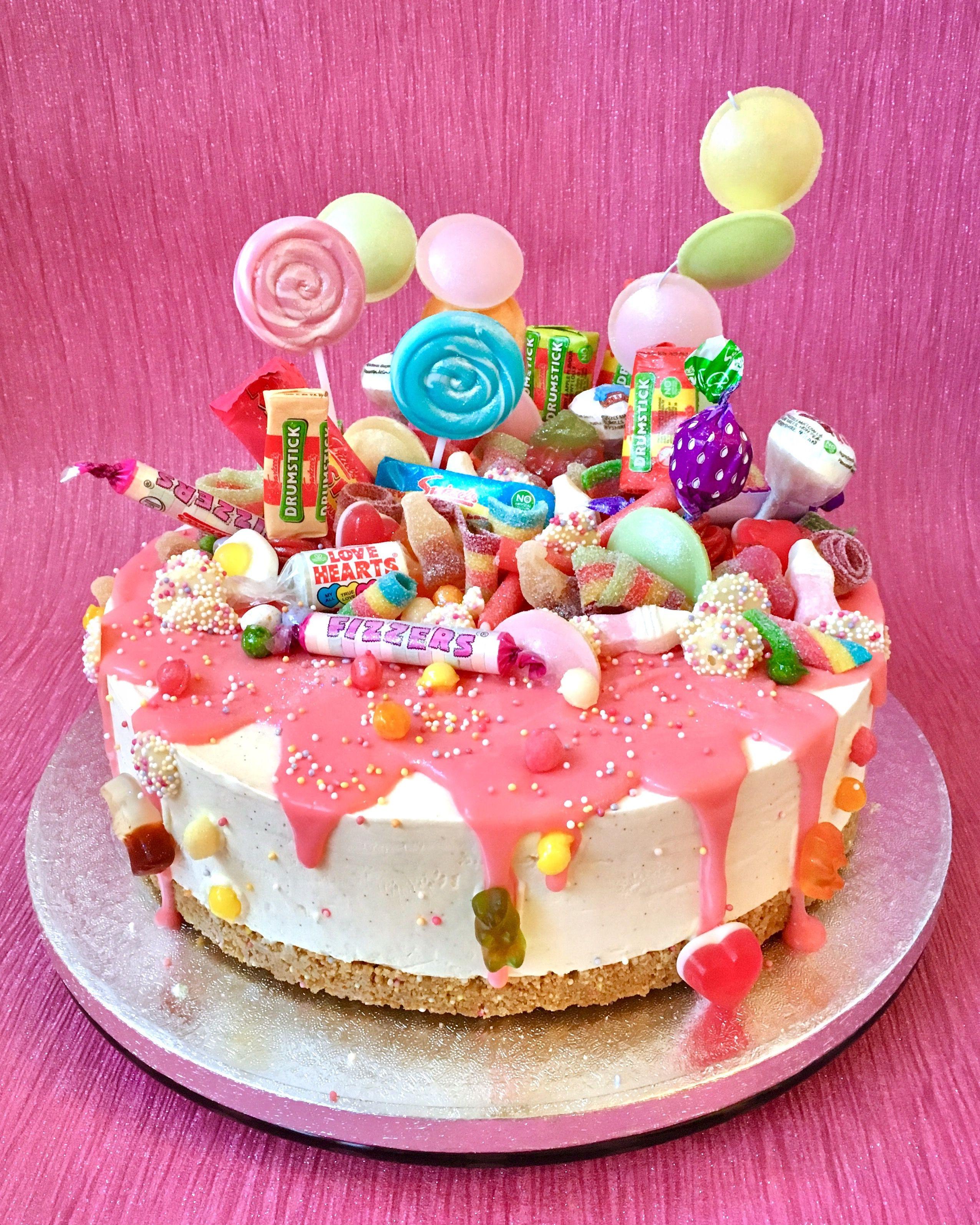 Amazing Swizzels Haribo Sweety Vanilla Cheesecake With Pink Chocolate Personalised Birthday Cards Petedlily Jamesorg