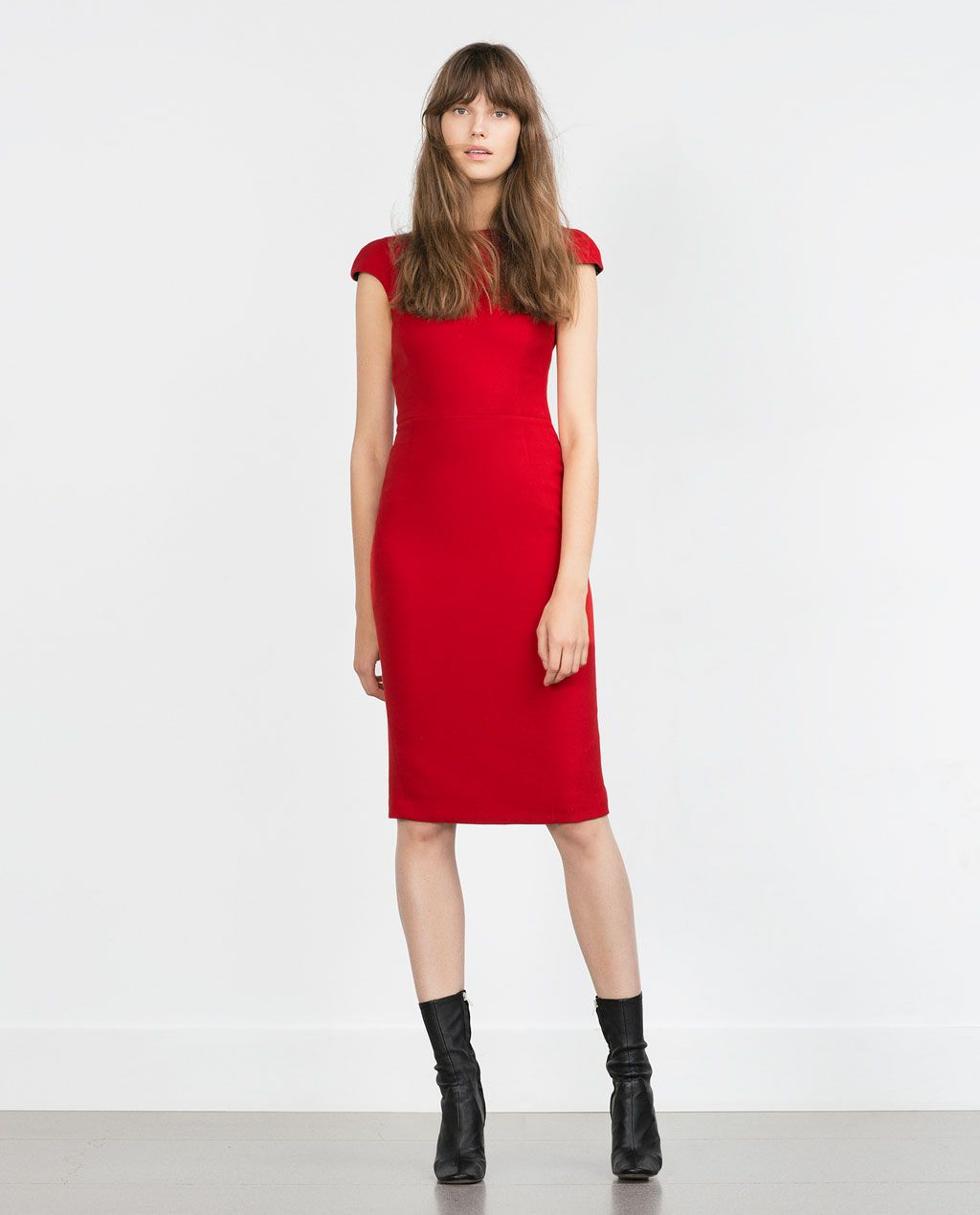 DRESS WITH ZIPS AT THE BACK-View all-Dresses-Woman-COLLECTION SS16 | ZARA United States
