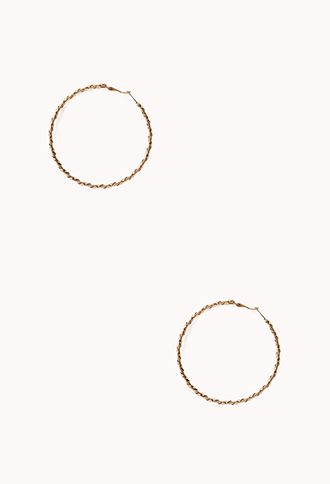 Favorite Twisted Hoops | FOREVER21 - 1000110592