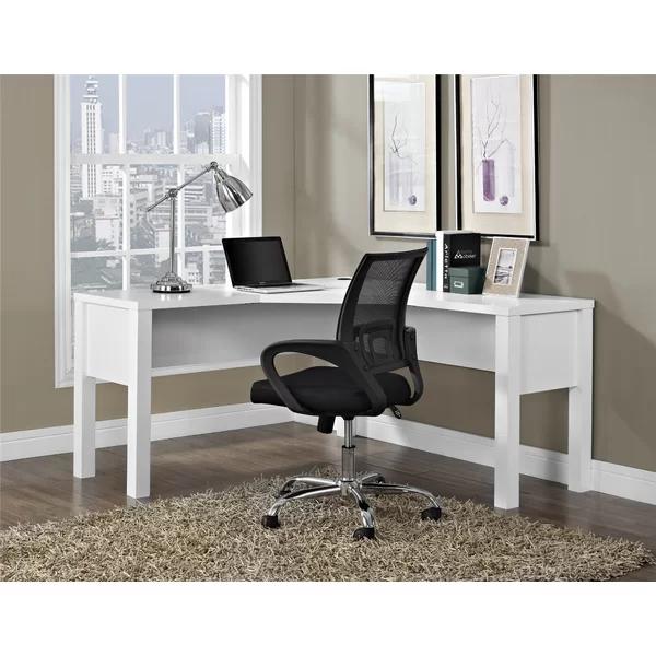 Jayda L Shapedesk White L Shaped Desk Home Desk Furniture