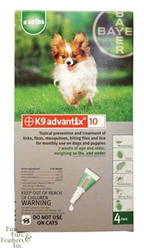 Bayer K9 Advantix 10 10lbs And Under Click On The Image For Additional Details Dog Odor Dogs Fleas
